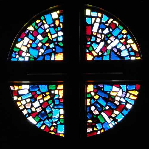 Stained glass window number 10