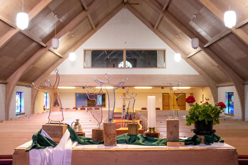 First Mennonite Church sanctuary